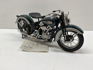 Franklin Mint Diecast 1936 Harley-Davidson EL Knucklehead1:10 Scale AS-IS