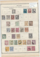 Netherlands Stamps on 2 Pages Ref: R6896
