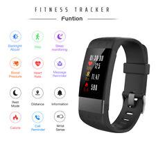 NEU Bluetooth Fitnessuhr Tracker Smart Armband uhr Smartwatch Pulsmesser IP67