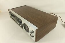 MASTERCRAFT AM/FM receiver,8 track player, serviced. (ref D 487)