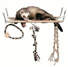 Trixie suspendu suspension bridge Rat Furet Chinchilla Cage Jouet 6905