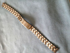 """Seiko Vintage Ladies Stainless Steel Bracelet 10mm ends Curved, """"New old Stock"""""""