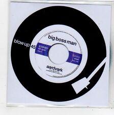 (FQ700) Big Boss Man, Aardvark - 2014 DJ CD