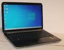 "New listing Hp Pavilion Dv6 15.6"" Amd A8-3520M Quad-Core Cpu 8Gb 500Gb Webcam Wifi Win 10"