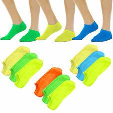 Stock 12 pezzi calze calzini fantasmini donna pariscarpa fitness TOOCOOL PM-4719