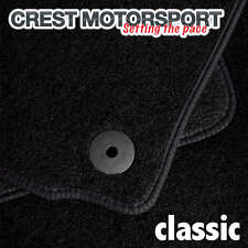 VOLVO C30 (Manual) 2006-2012 (8-Clips) CLASSIC Tailored Black Car Floor Mats