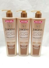 Jergens Natural Glow Daily Moisturizer, Medium to tan 10 Ounce EACH (3pack)