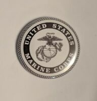 """1.25"""" Pinback Button Badge US Marine Corps (1¼"""" Pins Approx. 32mm)"""