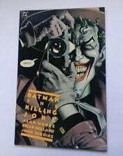 Dc Comics 1988 Batman The Killing Joke 4th Print Orange Font Alan Moore Joker