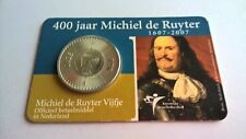 Nederland 2007 Coincard 5 Euro Zilver 400 Jaar Michiel de Ruyter