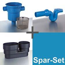 3P Spar-Set RVF DN 100 ohne Höhenversatz, Regenwasserfilter, Zisternenfilter