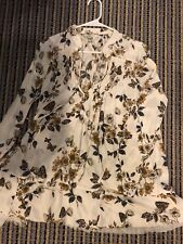New Free people floral tunic XS