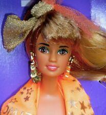 SUPER RARE VINTAGE 1990 HOLLYWOOD HAIR Barbie Teresa DOLL & FASHION. Sans boîte.