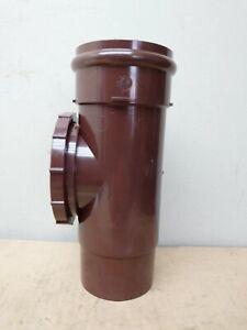 Brown Marley 68mm Circular Access Pipe