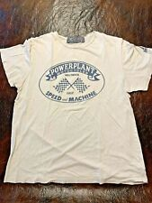 Vintage Powerplant Motorcycle T-shirt Mens Small