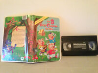 The 3 little pigs , the movie  / Les 3 petits cochons le film  FRENCH vhs & case