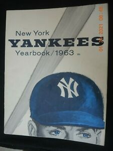 1963 NY YANKEE YEARBOOK
