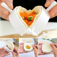 3pcs Dumpling Mold Pierogi Turnover Ravioli Empanada Dough Press Mould Maker DE