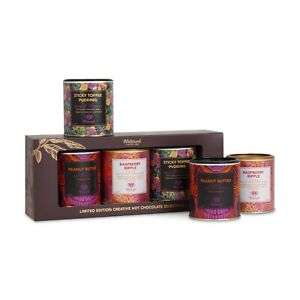 Whittard Limited Edition Creative Hot Chocolate Selection BOXED Giftset NEW beu2