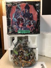 Rare Lemax Spooky Town Halloween Animated TUNNEL OF TERROR Sounds Lighted