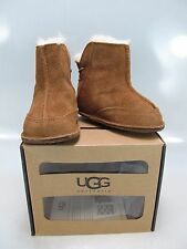 UGG AUSTRALIA Infant Chestnut Brown Beige BOOTIES Medium 12-18 Mos US 4 UK 19/20