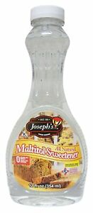2-PACK Joseph's Specialty Sugar Free Maltitol Sweetener Syrup - PRIORITY MAIL