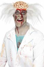 Brand New Zombie Scalped Scientist Costume Wig