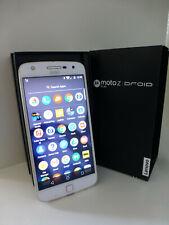 Motorola MOTO Z DROID PLAY in EUC Verizon White Smartphone 32G in Box 16MP 4K
