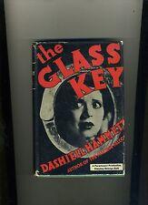 THE GLASS KEY-DASHIELL HAMMETT- 1ST/5TH 1931. HB/ORIGINAL DJ. RARE.