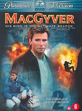 MACGYVER - MAC GYVER SEIZOEN 2 - 6 DVD'S - SEALED NIEUW
