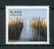 Aland 2013 MNH Aland Art Museum 50 Years 1v Set Museums Paintings Stamps
