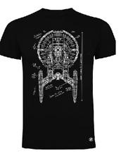 T-shirt unisex Star Trek, navicella Enterprise