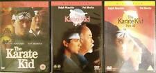 THE KARATE KID TRILOGY [1,2,3] Ralph Macchio*'Pat' Morita Teen Drama DVD *EXC*