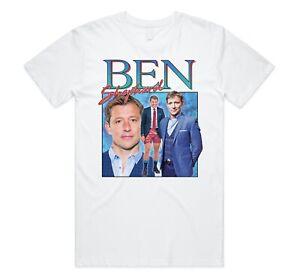 Ben Shephard Homage T-shirt Tee Funny UK TV Icon Legend Christmas Gift 80's 90's