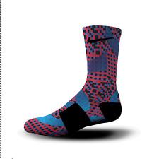 Custom Nike Elite Socks All Sizes DNA WAVES