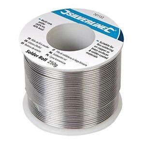 Solder Roll 60% tin 40% lead Multi-Core 250 g Soldering