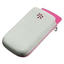 Genuine BlackBerry Leather Pouch Case Cover ACC-32840-301 BB Torch 9800