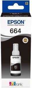 Original Epson 664 Black Ecotank Ink Bottle ET-2500 ET-2550 ET-2600 ET-4500