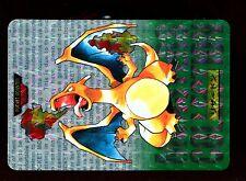 POKEMON BANDAI 1996 GREEN MONSTERS COLLECTION N°    6 CHARIZARD DRACAUFEU