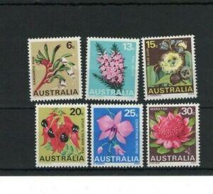 MAD834) Australia 1968 State Flowers MUH