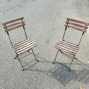 Outdoor Folding Metal Chairs