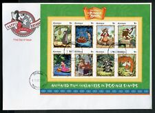 Gambia Disney Jungle Book 1999 Sheet Of Eight First Day Cover