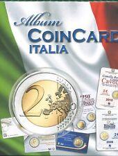 album con fogli COIN CARD ITALIA DAL 2009 AL 2018