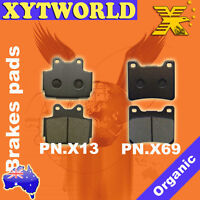FRONT REAR Brake Pads for Yamaha TZR 125 1990-1992