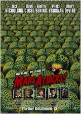 Mars Attacks Classic Large Movie Poster Print Maxi A1 A2 A3 A4