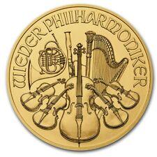 2020 1/10 oz Austrian Gold Philharmonic Coin in capsule
