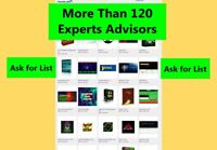 More than 120 Experts Advisors for MT4 metatrader 4