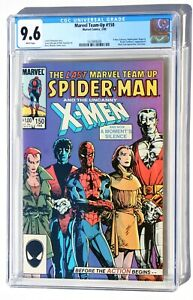 CGC 9.6 MARVEL TEAM-UP #150 * Spiderman X-Men * Barry Smith cover * White Pages