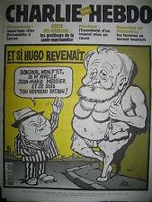 CHARLIE HEBDO 499 MESSIER VICTOR HUGO RISS LUZ TIGNOUS WOLINSKI WILLEM JUL 2002