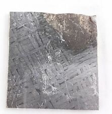 Cape York Iron IIIAB Meteorite - Etched Partial Slice 31.458 grams [#35]